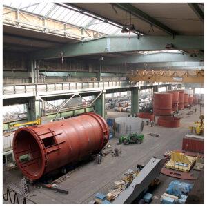 Businessfotos Dortmund große Lagerhalle