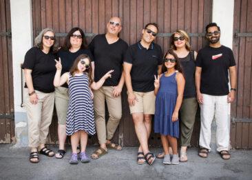 Familienfotos 8 Personen