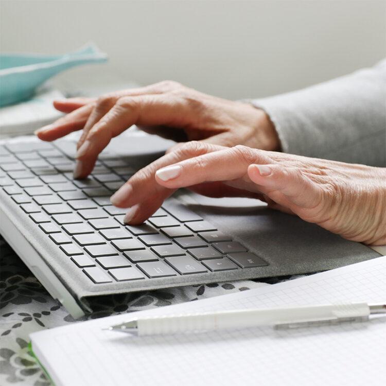Personal Branding Fotografie schreibende Hände