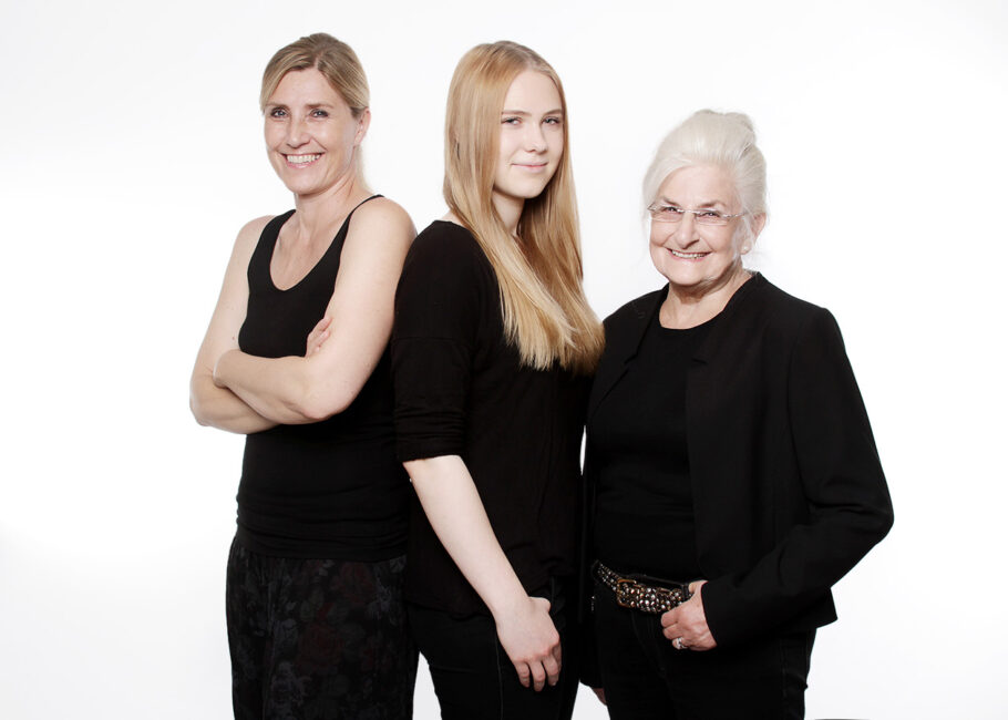 Portraitfotos 3 Generationen
