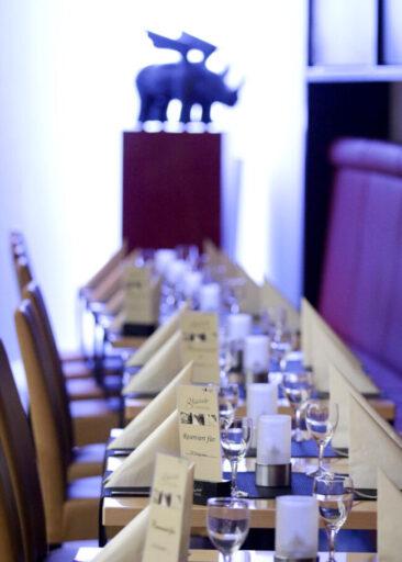 Restaurantfotografie Bestuhlung Stravinsky Dortmund