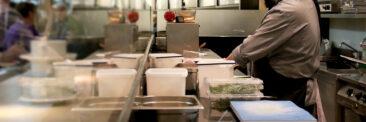 Restaurantfotografie in der Küche