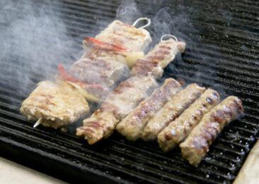 Restaurantfotografie Fleisch auf Grill